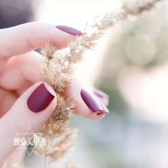 纯色磨砂美甲,女人无法拒绝的高级感!图片
