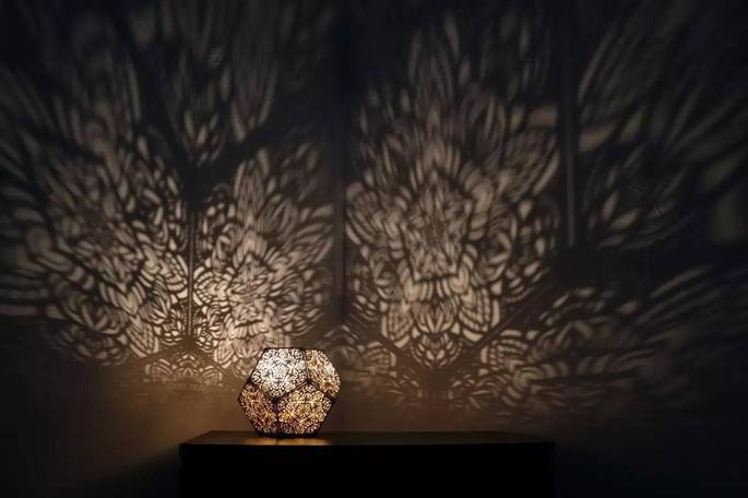 灯光表现手绘图