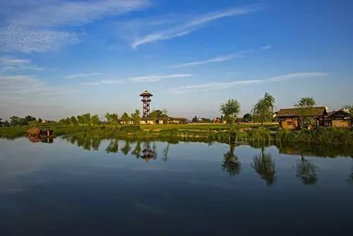 香山国家森林公园 夏铎铺镇历史文化悠久,风景秀丽,域内留有香山庵