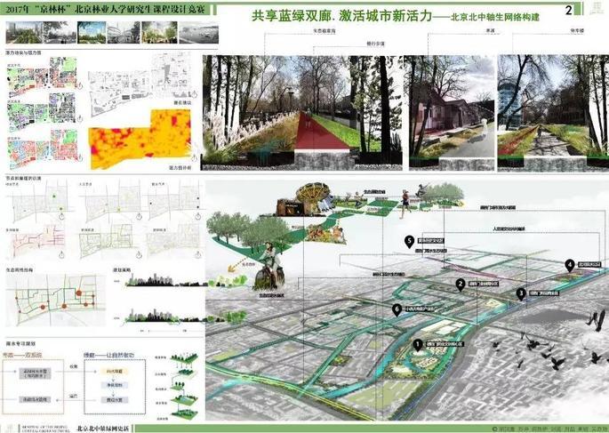 【学院新闻】2017京林杯风景园林研究生课程设计竞赛