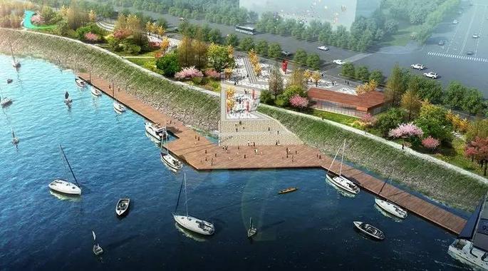 河东沿江风光带工程规划设计景观部分(征求意见方案)